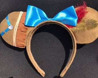 Pocahontas Inspired Ears