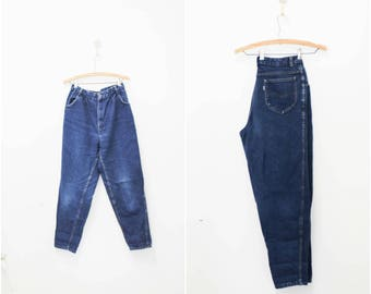 High waisted pleated Jeans- Size 13