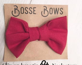 Maroon Bow tie, Newborn bow tie, Infant bow tie, toddler bow tie, Kids bow tie, Clip on bow tie, handmade bow tie, baby bow ties, bow ties