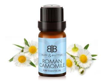 Roman Chamomile Essential Oil 100% Pure Natural Fragrance Aromatherapy - 1ml, 10ml, 30ml, 50ml, 100ml Bottle
