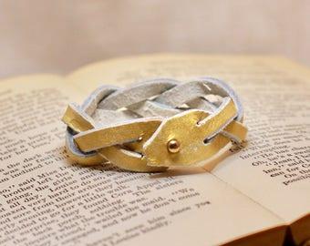 Magic Braid Bracelet - Gold