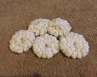 Cotton face scrubbies