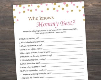 Comprehensive image throughout who knows mommy best printable