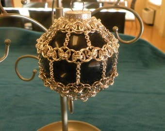 Christmas Ornament - chainmail