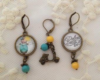 Play Dolce Vita earrings.