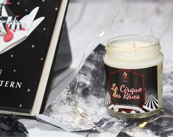 Le Cirque des Reves - Hand-Poured Soy Wax Candle Inspired By The Night Circus