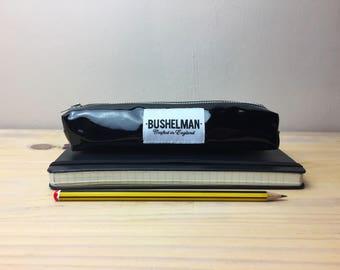 Shiny Pencil Case - Black