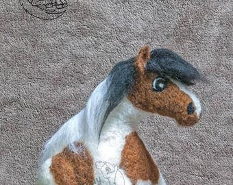 Heavy Pony Collection - 100 percent wool Roly Poly Pony! - commission a wool only Roly Poly Pony.