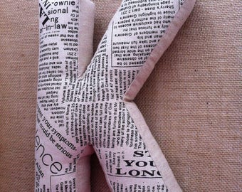 A cuddly letter, letter cushions, pillows, cushions, personalized pillows, linen
