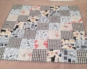 Country Style Plaid Toddler/Baby Blanket (Boy)