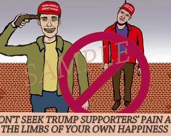 Eleventh Mind-Training Slogan Card/Poster