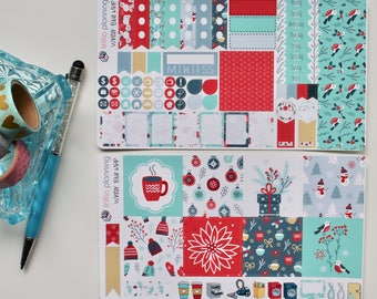 Winter Blue - Mini Happy Planner Weekly Kit