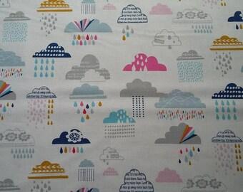 Dashwood Studio Rain or Shine Multi 100% cotton fabric 44 inch / 110cm
