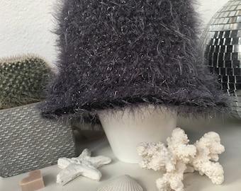 Crochet Hat Grey