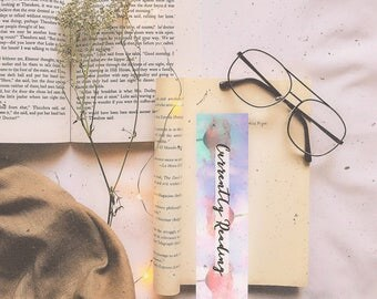 Currently reading bookmark