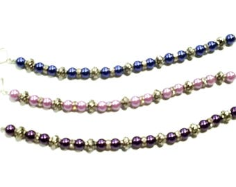 Czech Glass 8mm Beaded Bracelets