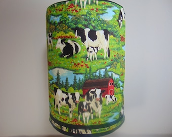 Cows - bottle cover