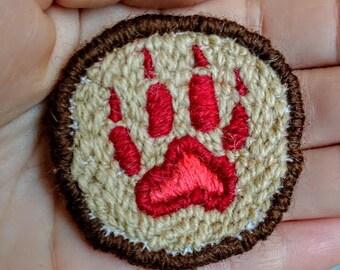 Wolf Paw Patch
