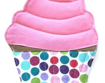 Cupcake Mug Rug - Coaster