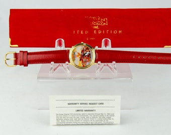 AMAZING # 2750 OF 2750 Super Rare Limited Edition Disney Mickey's Toontown Watch