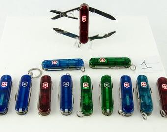 Victorinox Swiss Army 12 Knife Lot - 3 Midnight Managers 6 Swiss Lite 3 Ramblers