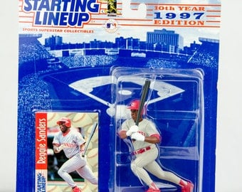 Starting Lineup 1997 MLB Reggie Sanders Action Figure Cincinnati Reds
