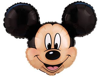 "Mickey Mouse 27"" Head SuperShape Foil Balloon"