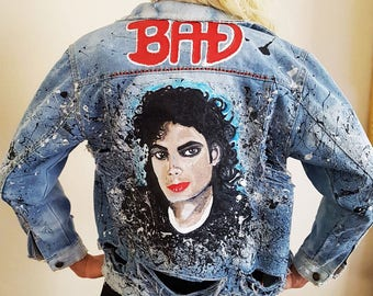 Michael Jackson Denim Jacket