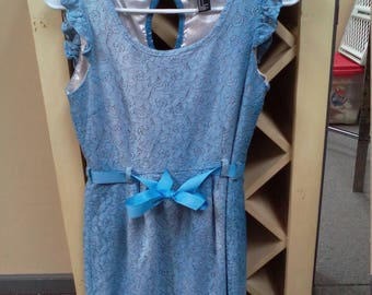 Repurposed tie dye dress