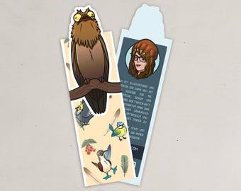 Cut out bookmark Potoo, Potoo, Derpy bird
