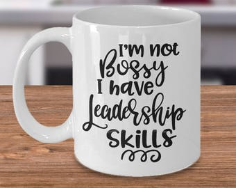 office mugs funny. boss mug gift for girl bossy funny coworker office mugs