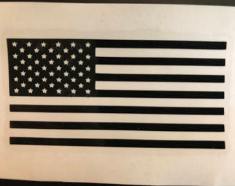American Flag Decal Small