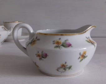 Limoges France vintage porcelain milk jug