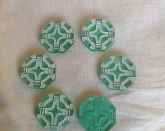 6 Standby Tokens (Star Wars - Legion Acrylic Custom Tokens)