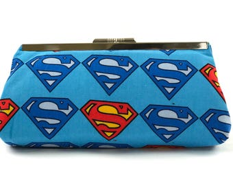 Superman Inspired Clutch