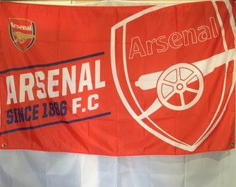 Arsenal FC Wall Flag