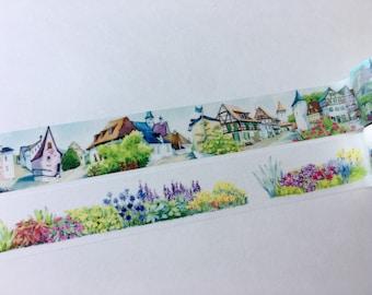 SAMPLE Washi Tape Joyce Lo House Flowers
