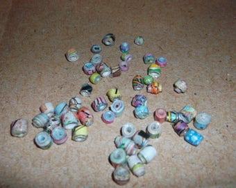 Isty Bitsy handmade paper beads