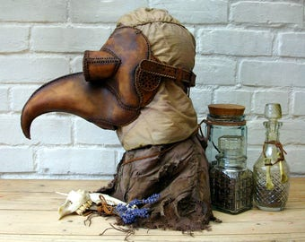 "Plague Doctor mask ""Aldrich"""