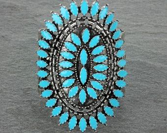 Fashion Ethnic Style Cuff Bracelet-AB1102SBTQ0025