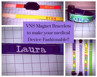 ONE Custom Made with your Young  Teens name VNS Bracelet! #Epilepsy #Seizures #Medical ID