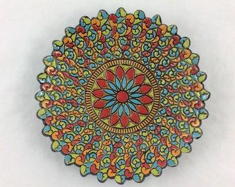 Mandala dish