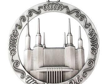Washington DC LDS Temple Ornament - LDS Gifts
