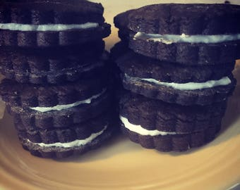 Dark Chocolate Sandwich Cookies