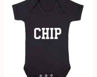 Chip Baby's Bodysuit Family Set