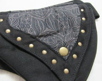 UTIITY BELT HIP Belt Festival Pocket Belt Psy Trance Bumbag Utility Belt Hip Belt Money Belt Hippie Psy Boho Goth Gypsy Berlin