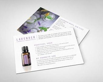 doTERRA Lavender Info Card