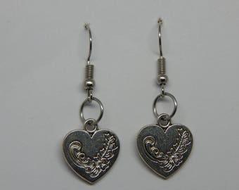 Fashion Jewellery - Earrings -Hearts-Stars-Leaf-Fish-Elephant-Tribal-Celtic-Pentagon-Glass blue heart-Glass red oval