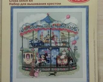 Counted Cross Stitch Kit  RIOLIS - 1458 Carousel