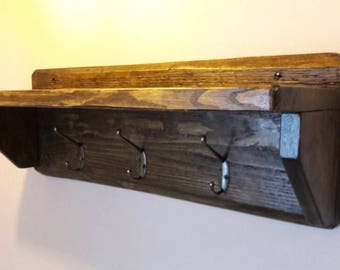 Coat racks with shelf